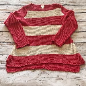 Chicos Open Stich Sweater Size 0=4